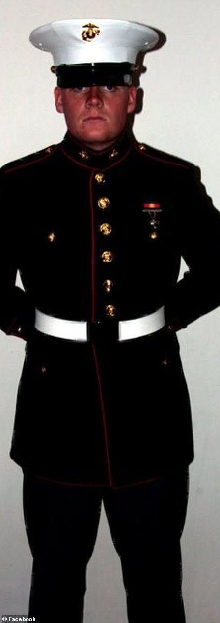 Hoover in his formal uniform