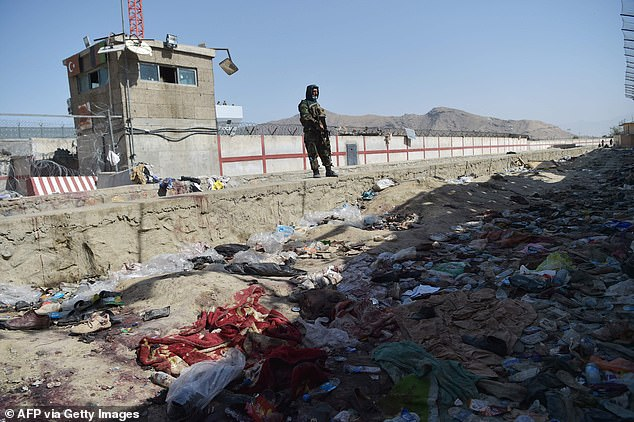 With the rushed evacuation came bloodshed. This is the aftermath of Thursday's suicide bomb attack outside Kabul airport. 170 people were killed in the bomb attack and more are imminent, American generals warned
