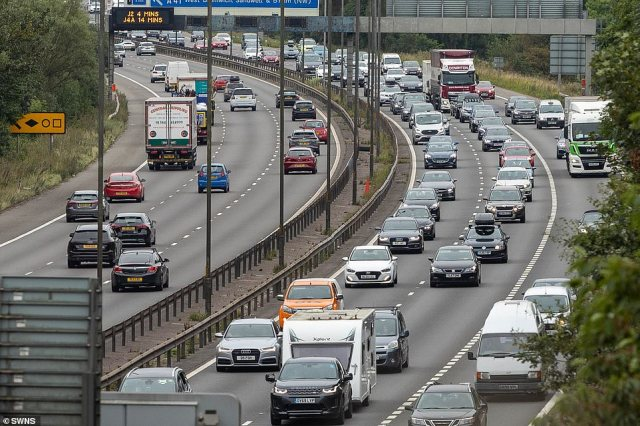 The AA said that as many as 18.4 million could be on the roads this bank holiday Monday as they return home