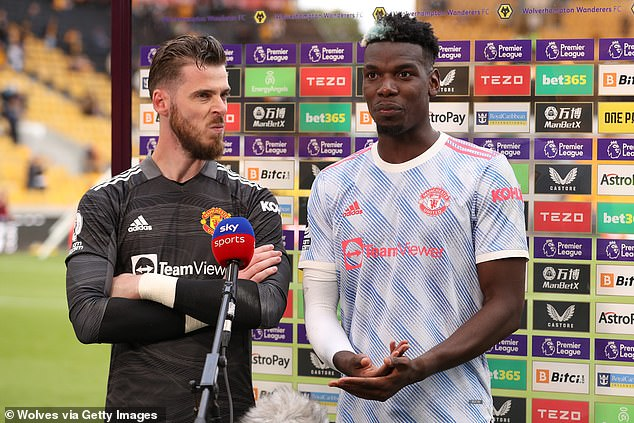 Keane also fears that goalkeeper David de Gea could cost United despite keeping a clean sheet