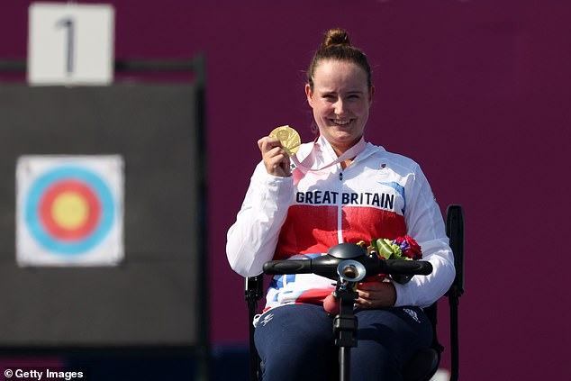 Paterson Pine was made to work hard for a gold medal that she won in the end by a single point