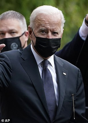 President Biden's administration is on collision course with states that ban schools from telling all students to wear masks