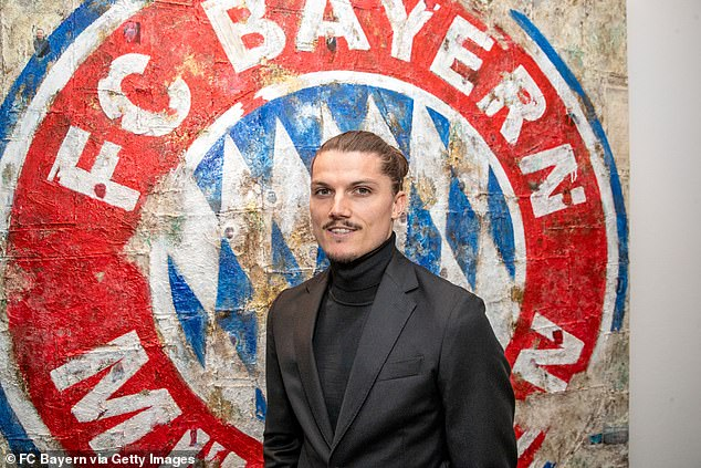 Austria dynamo Marcel Sabitzer was all smiles as he signed for Bayern Munich from RB Leipzig
