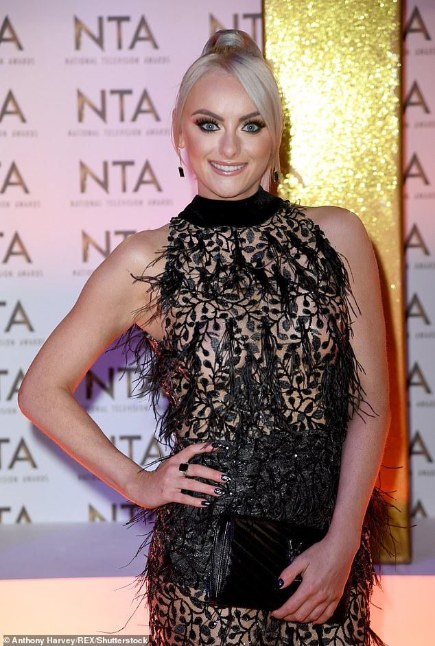 Fresh start: Katie McGlynn has vowed to give up her 'partying lifestyle' in time for her Strictly Come Dancing gig in September... after being pictured looking worse for wear during boozy night out in July (pictured in 2020)