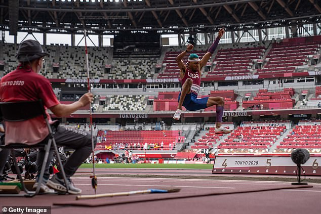 There was a silver medal for Roderick Townsend as he jumped a new personal best in Tokyo
