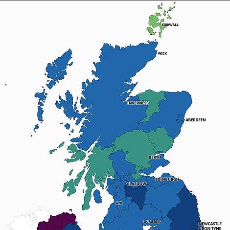 SCOTLAND: August 4