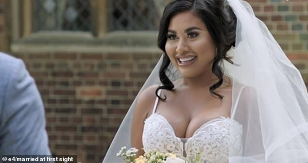 Nikita, 27, from Newcastle,was slammed by Married at First Sight UK viewers last night after she swore loudly at the altar and revealed she had written her vows while sitting on the toilet