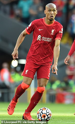 Fabinho was already renowned as one of Europe's top defensive midfielders before joining
