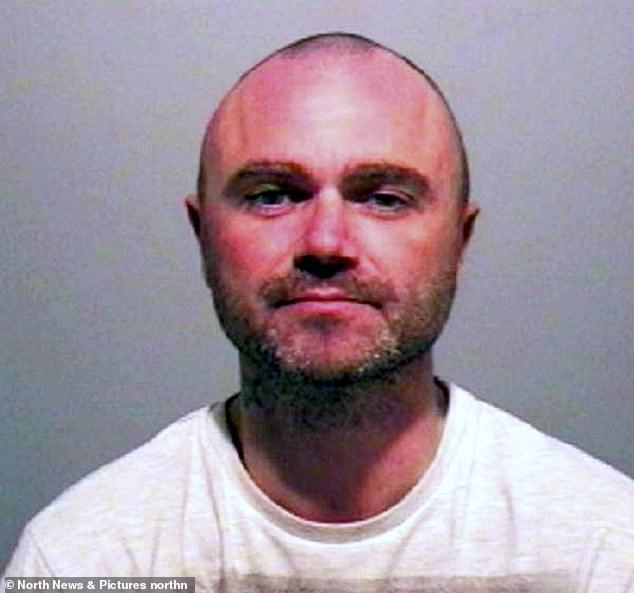 Thompson's mugshot. His front seat passenger, Lewis Atkinson, suffered a bleed on the brain, Newcastle Crown Court heard