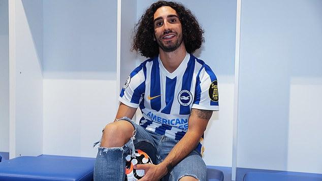 Former Barcelona manMarc Cucurella signed on the dotted line on transfer deadline day