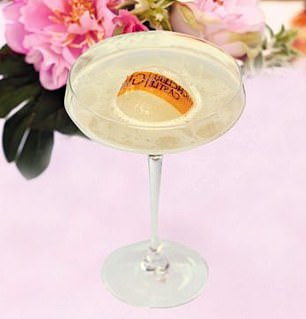 His Lordship Cocktail (pictured) is best enjoyed with a strip of orange zest