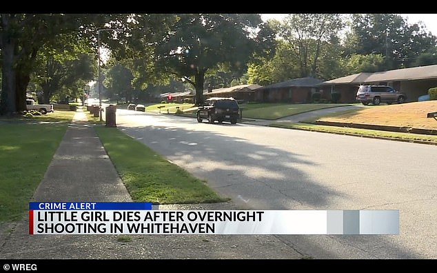 The Memphis father told police that he was checking a bedroom closet when he saw a silhouette move and opened fire
