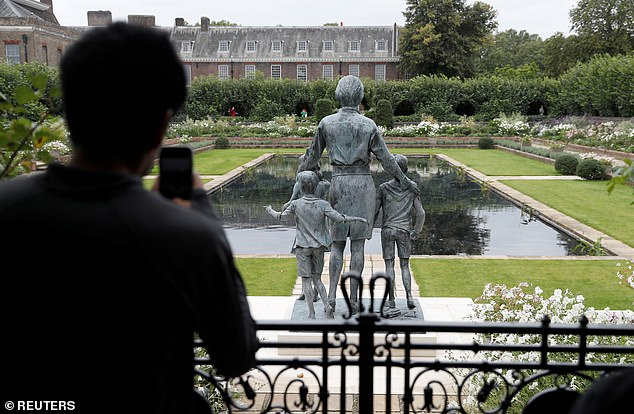 This year, visitors can see the statue erected in her honour too, placed in the gardens of Kensignton Palace