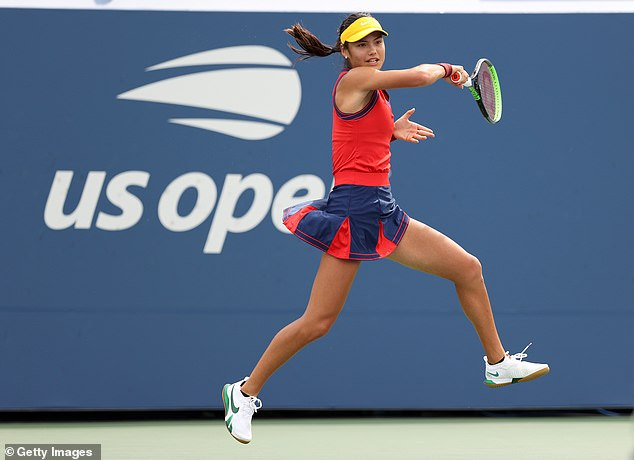 Raducanu backed up her performances at Wimbledon in the summer with another big display