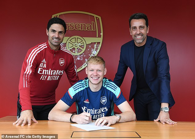 The Gunners signed goalkeeper Aaron Ramsdale for £25m amid their summer spending