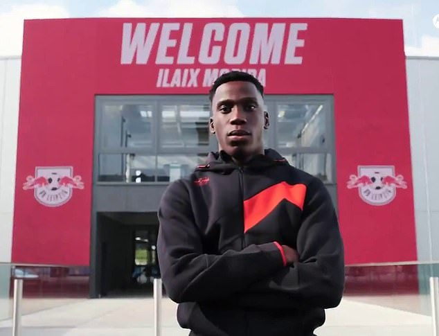 RB Leipzig also completed the signing of 18-year-old Ilaix Moriba from Barcelona for £14m