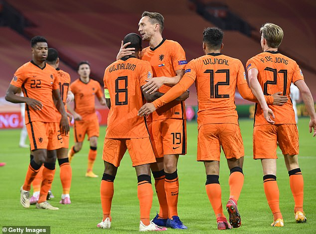 De Jong's arrival means it is another Dutch international that has arrived under Koeman