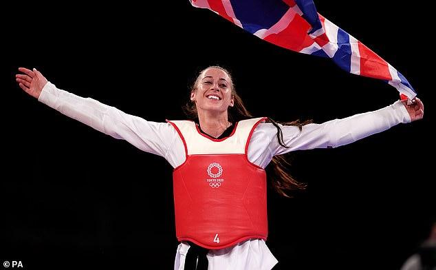 Bianca Walkden has urged kids to try something new and take up taekwondo