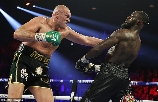 The Brit has claimed he will knock Wilder out quicker than last time in their third fight