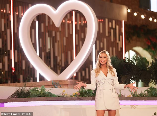 She's a professional: Laura presented Love Island this summer after welcoming her daughter in April, with the 2021 series finishing last week