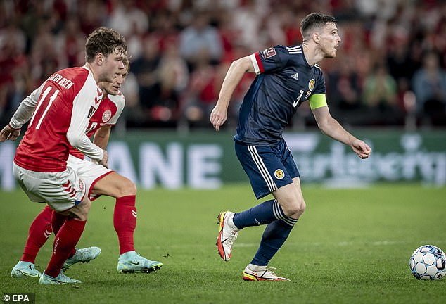 Clarke also backed his decision to play captain Andy Robertson on the right side of defence