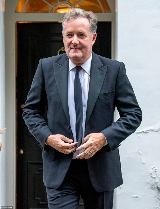 His comments come hours after Piers Morgan, who was in the audience at the GQ awards in London, won a resounding victory for free speech