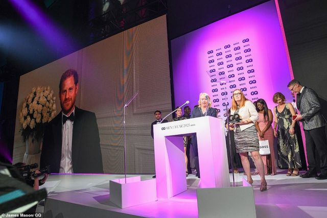 The Duke of Sussex, speaking at a surprise virtual appearance at the GQ Awards at the Tate Modern in London, delivered a lecturing speech urging governments to do more to vaccinate poorer countries