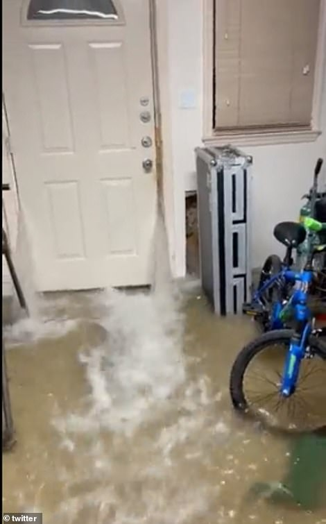 Basement apartments all over New York City, New Jersey and Pennsylvania flooded on Wednesday when the storm hit
