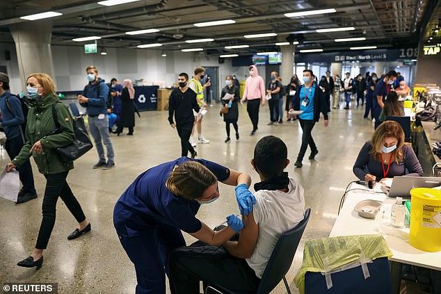 Tottenham's stadium has been used as a coronavirus vaccination centre over the summer
