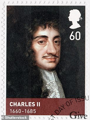 Portrait of King Charles II, who was adevotee of the breed