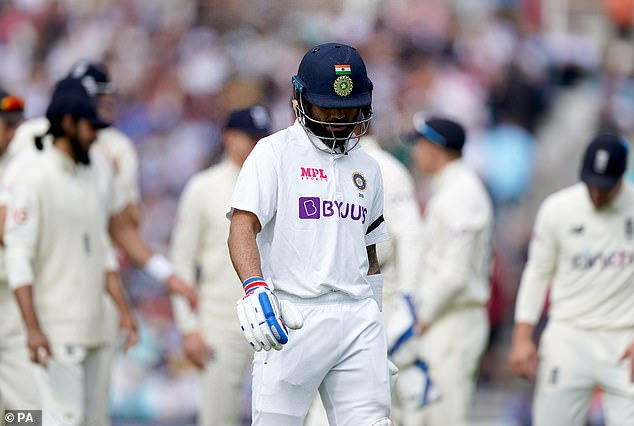 The India skipper can be forgiven for a lull in form given the burden of responsibility on him