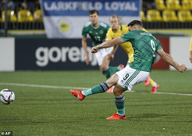 Conor Washington doubled their lead from the spot five minutes into the second half