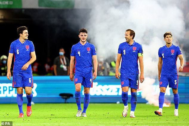England were playing their first game since losing the Euro 2020 final and did not disappoint