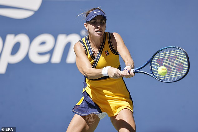 Olympic gold medallistBelinda Bencic continued her fine form with a straight sets victory