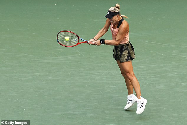 Angelique Kerber was given an unexpected match on Arthur Ashe but rose to the occasion