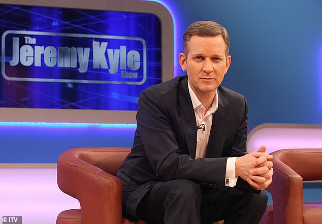 Troubles: Jeremy revealed that he spiralled into depression and had to take pills for anxiety after his show was cancelled following a guest's death