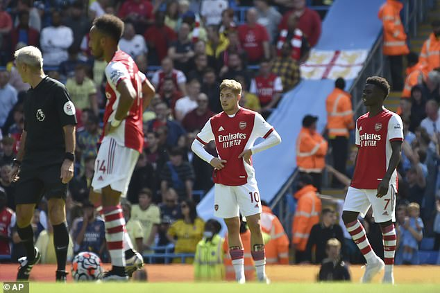 The Gunners have endured a torrid start to the season, losing all three of their league games