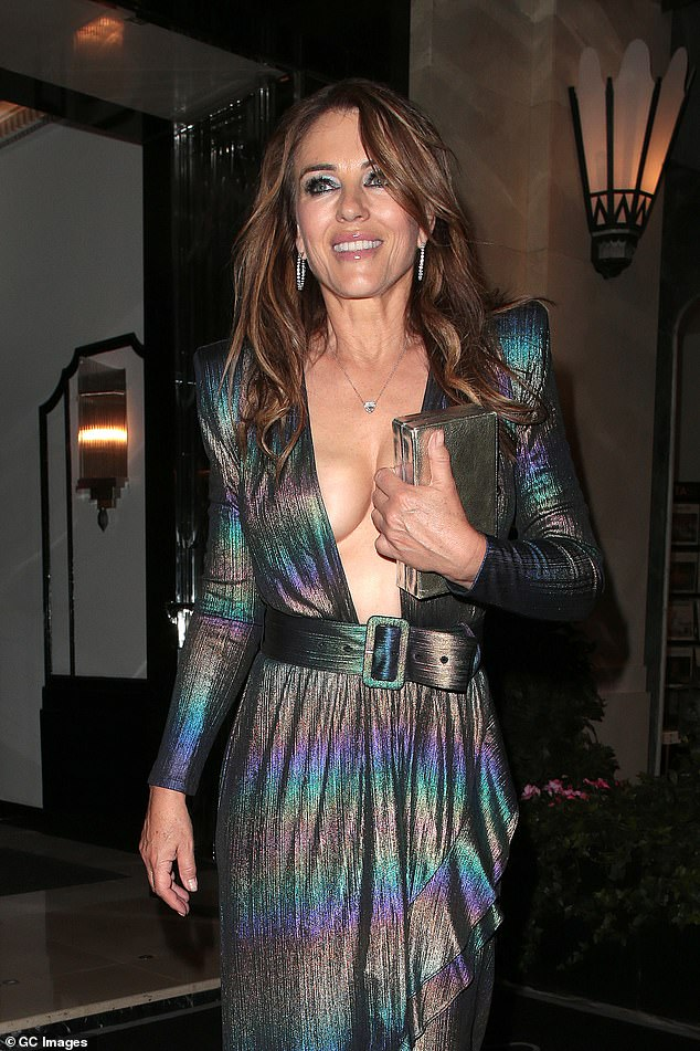 , Elizabeth Hurley, 56, swaps her bikinis and ballgowns for a hoodie, The Evepost BBC News
