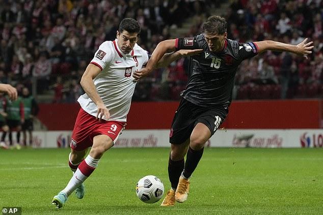 Lewandowski, 33, remains as integral to Poland's chances of making tournaments as ever