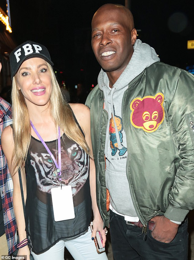 Kate Quigley and Fuquan Johnson are seen on May 15, 2018 in Los Angeles