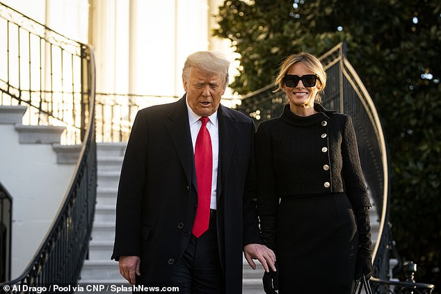 'Being first lady again is not what she wants,' a person who was close with Melania when she was first lady said. 'For her, it was a chapter – and it's over, and that's that'