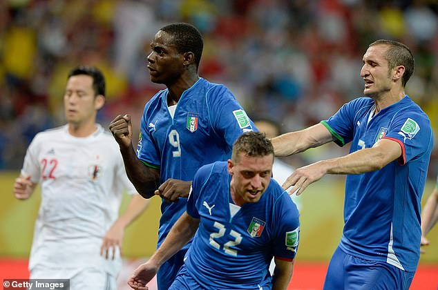 Balotelli scored 14 in 36 games for Italy but is widely considered to have wasted his potential