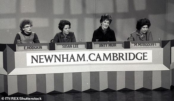 In 1963, I was part of the team representing Newnham College in the debut series of Granada TV's University Challenge, presented by Bamber Gascoigne