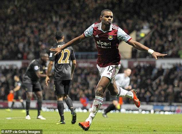 Ricardo Vaz Te scored some huge goals for West Ham, none bigger than the goal that secured promotion back to the Premier League in the final stages at Wembley against Blackpool