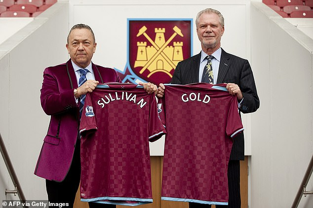 West Ham owners David Sullivan and David Gold have now made their 50th forward purchase