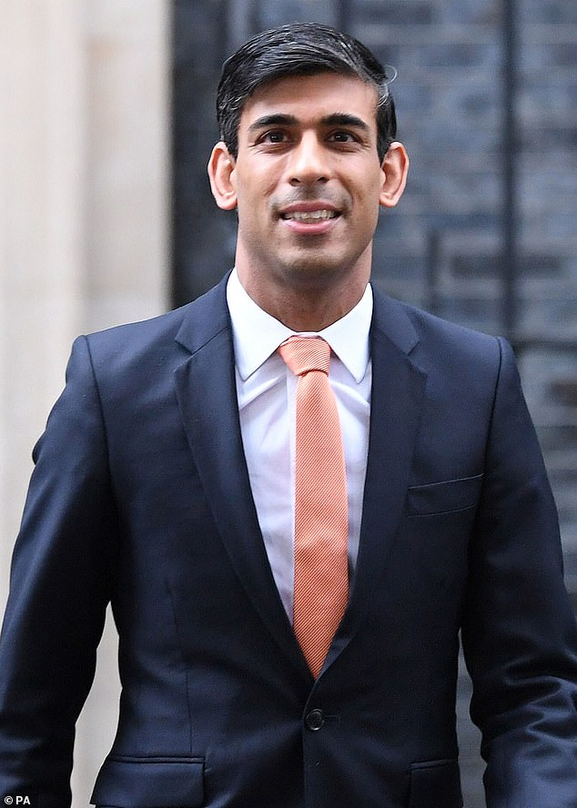 The PM has been locked in talks with Chancellor Rishi Sunak (pictured) and signed offan immediate £5.4billion funding boost for the NHS to help it through the winter