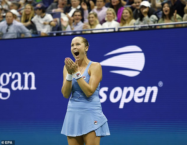 Raducanu now faces world No 43 Shelby Rogers, who is another beatable player for the Brit