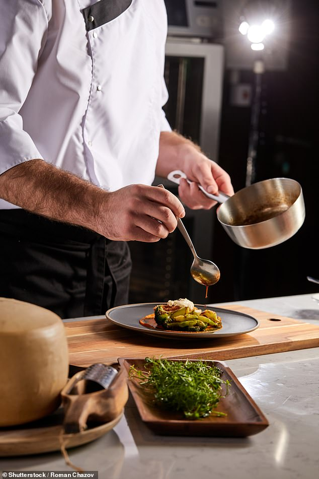 Wagamama revealed it was struggling to hire chefs across 30 sites and boss Thomas Heier said many hospitality workers were taking jobs as warehouse workers for higher wages (stock image)