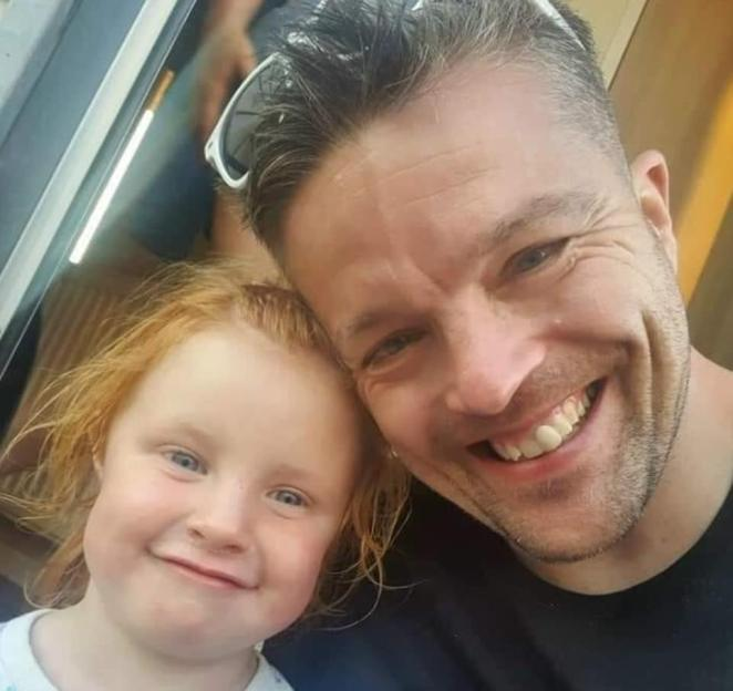 Davison went into the street and shot dead Sophie Martyn, three, and her father, Lee Martyn, 43