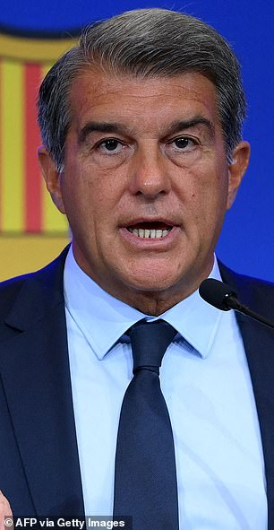 Laporta has aimed a number of digs at his predecessor